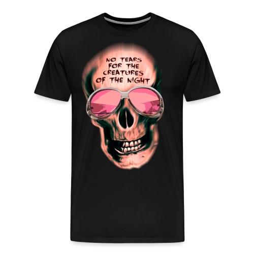 Skull No Tears - mark freeze - Männer Premium T-Shirt