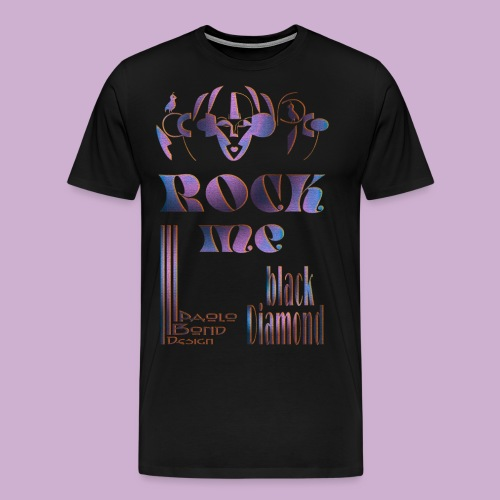 ROCK ME Diamond multi - Männer Premium T-Shirt