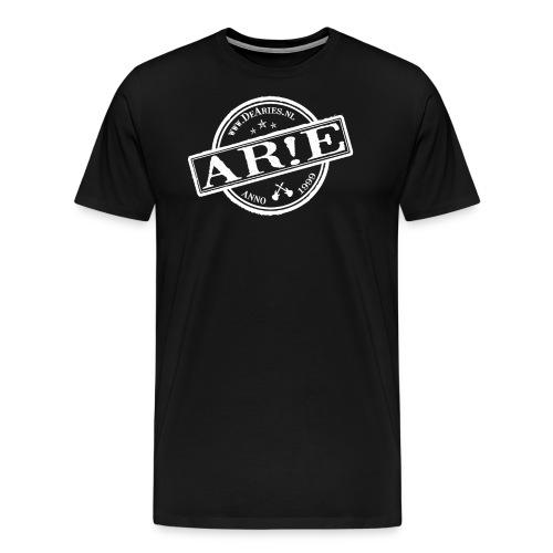 Backdrop AR E stempel aangepast copy gif - Mannen Premium T-shirt