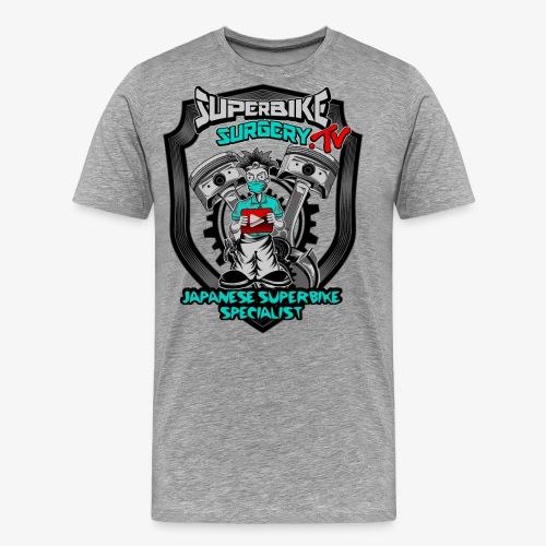 Superbike Surgery TV - Men's Premium T-Shirt
