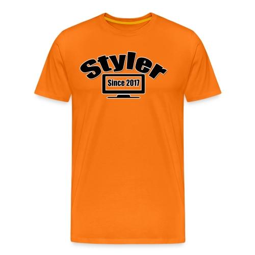 Styler Design T-Shirt Mannen - Mannen Premium T-shirt