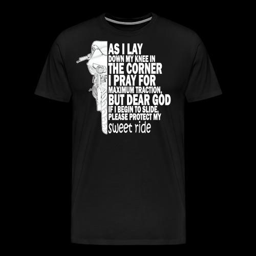 As I Lay Down My Knee XB12-R - Premium-T-shirt herr
