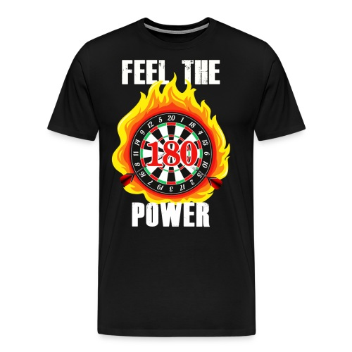 Darts - Männer Premium T-Shirt