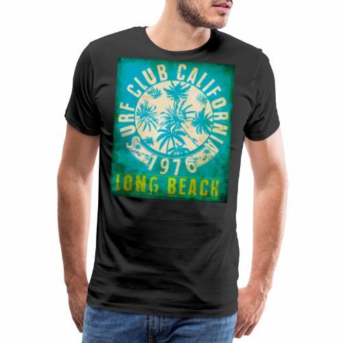 Long Beach Surf Club California 1976 Gift Idea - Men's Premium T-Shirt
