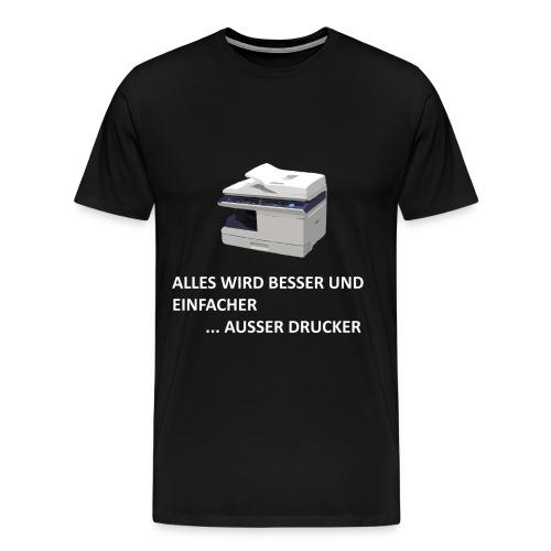 Drucker - Männer Premium T-Shirt