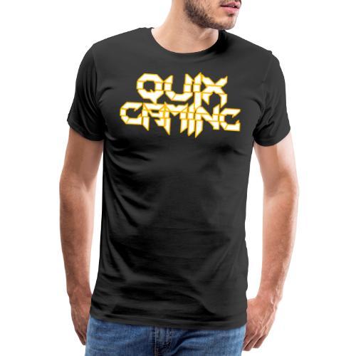 QuixGaming Simple Design - Herre premium T-shirt