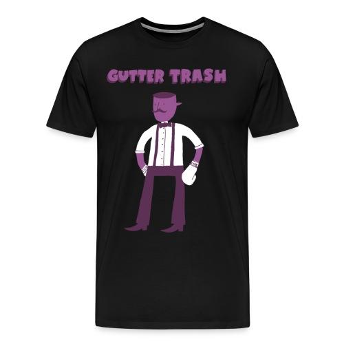 gutterdud2 png - Men's Premium T-Shirt