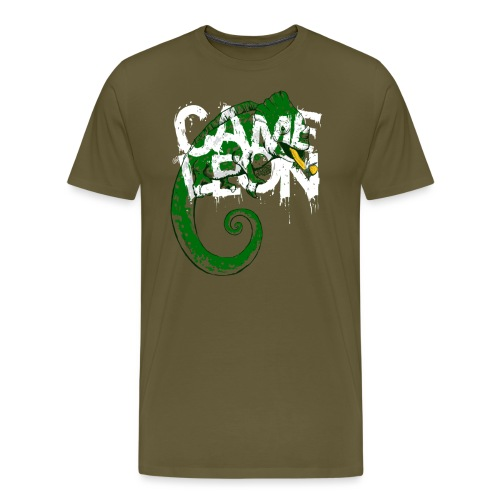 Caméléon - Men's Premium T-Shirt