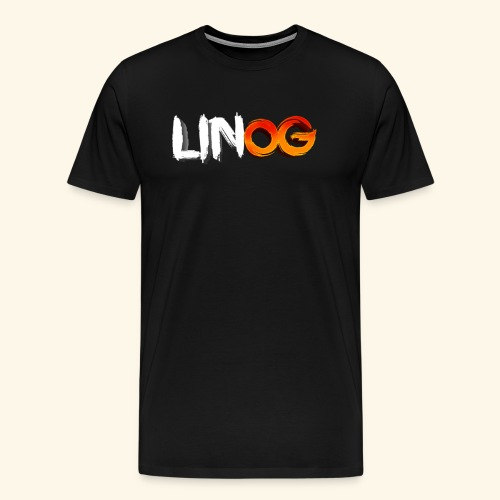 LinOG Logo - Premium-T-shirt herr