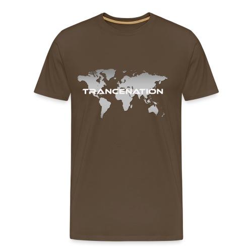 TRANCE NATION - Premium-T-shirt herr
