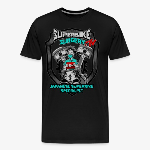 Superbike Surgery TV - Men's Premium T-Shirt