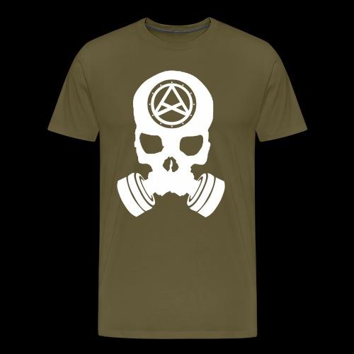 Nether Skull - Maglietta Premium da uomo