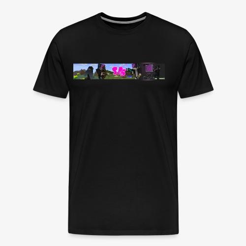 sa5 logo - Premium T-skjorte for menn