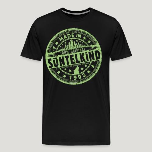 SÜNTELKIND 1993 - Das Süntel Shirt mit Süntelturm - Männer Premium T-Shirt