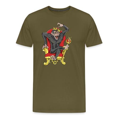 Bitcoin Monkey King - Beta Edition - Männer Premium T-Shirt