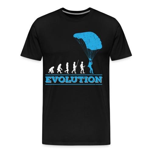 Evolution Skydiving - Skydiver - T-shirt Premium Homme