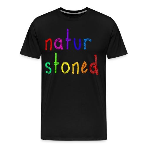 naturstonedBIG - Männer Premium T-Shirt