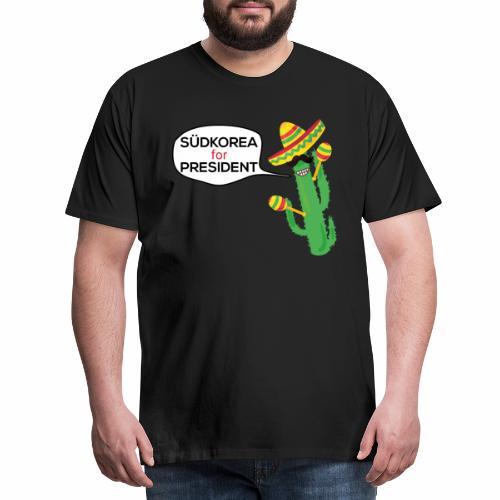 Südkorea For President - Männer Premium T-Shirt