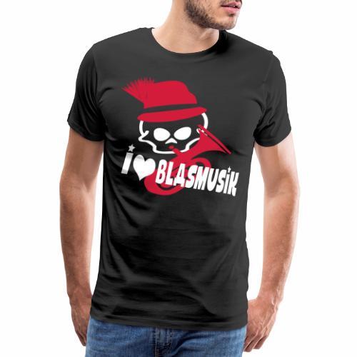 i love blasmusik - Männer Premium T-Shirt