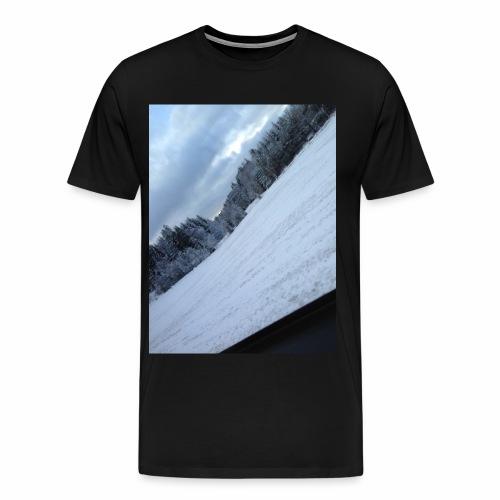 Norsk Natur - Premium T-skjorte for menn