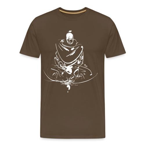 Iaido Samurai Zen Meditation - Men's Premium T-Shirt