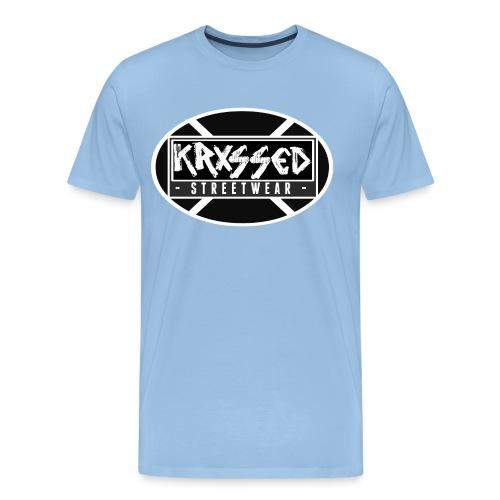 KRXSSED BASIC - Mannen Premium T-shirt