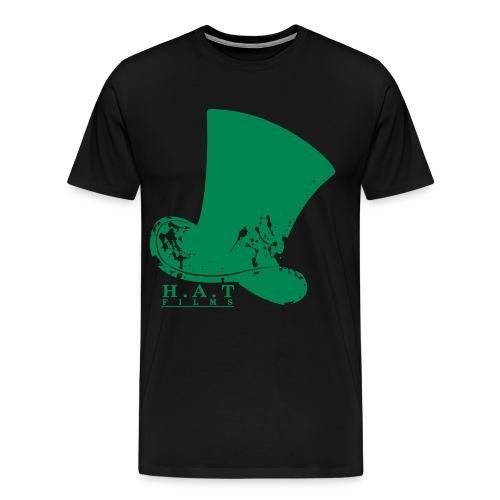 hat design 3 transparent splodges3 - Men's Premium T-Shirt