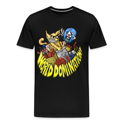 WORLD DOMINATION - Men's Premium T-Shirt