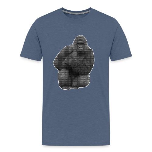 harambe 2k png - Herre premium T-shirt
