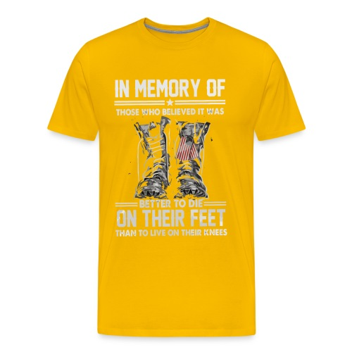 In memory of those who believed - Men's Premium T-Shirt