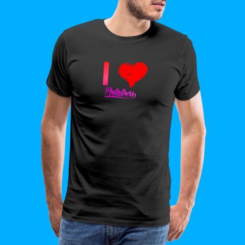 I Heart Potato T-Shirts - Men's Premium T-Shirt