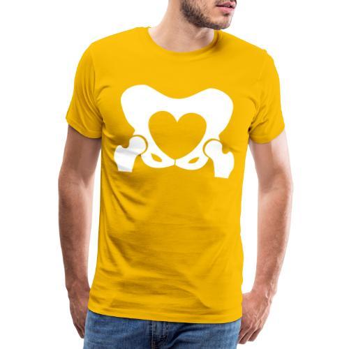 Love Your Hips Logo - Men's Premium T-Shirt