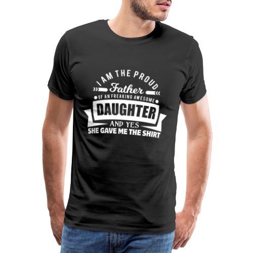 PREMIUM - FATHERDAY SHIRT - Männer Premium T-Shirt