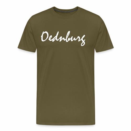 Oednburg Wit - Mannen Premium T-shirt