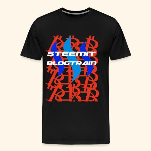 STEEMIT BLOGTRAIN - Men's Premium T-Shirt