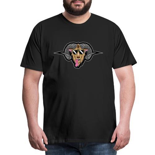 HüttenRocker Widder - Männer Premium T-Shirt