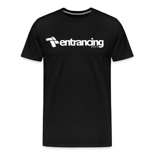 entrancing_vectorized_whi - Männer Premium T-Shirt