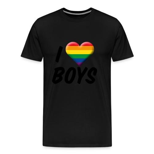 iloveboys - Männer Premium T-Shirt