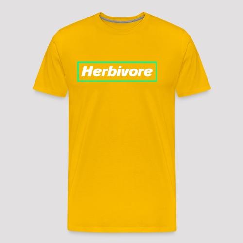 Herbivore Logo White - Maglietta Premium da uomo
