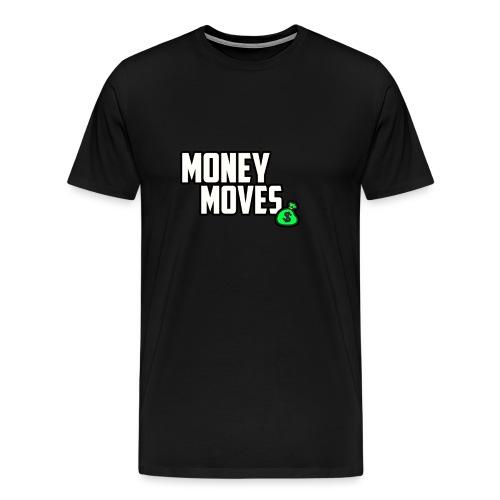 MONEY MOVES - Men's Premium T-Shirt