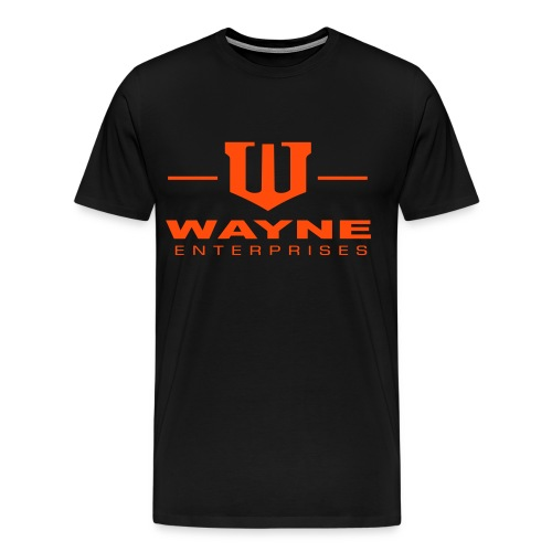 Wayne Enterprises white - Männer Premium T-Shirt