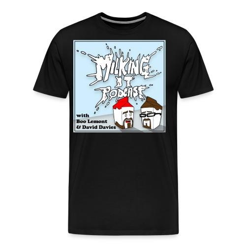 milkyb png - Men's Premium T-Shirt