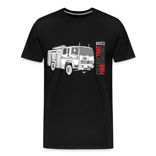 drawn martha - Men's Premium T-Shirt