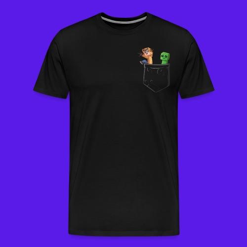 Pocket png - Men's Premium T-Shirt