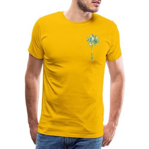Fancy Palme Grün - Männer Premium T-Shirt