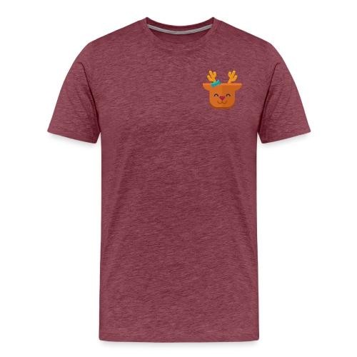 When Deers Smile by EmilyLife® - Men's Premium T-Shirt