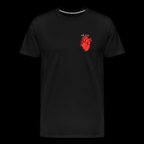 Red Heart - T-shirt Premium Homme