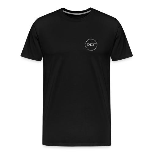 PPF Music Logo White - Men's Premium T-Shirt