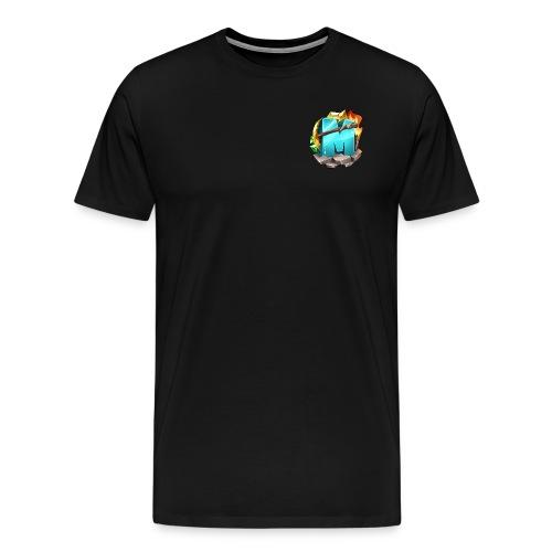 Kleines Logo - Männer Premium T-Shirt