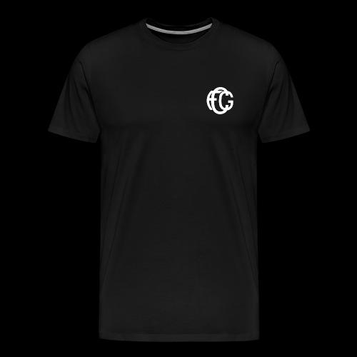 FCG Schriftzug - Männer Premium T-Shirt